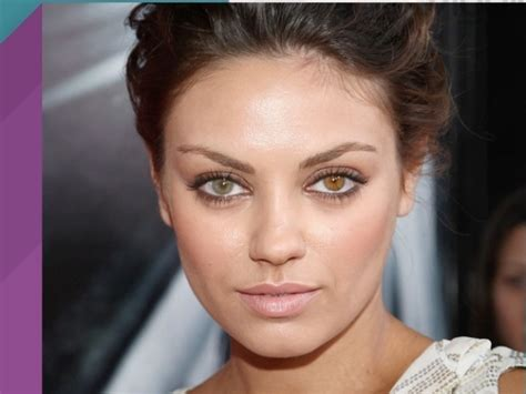 two colored with different color mila kunis elizabeth