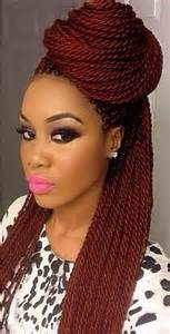 of color twist hairstyles 45 photos of rockin red box braids