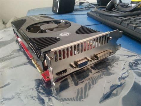 Vga Xfx Gts 250 512mb 256bit placa gaming gainward nvidia gts250 1gb 256 bit