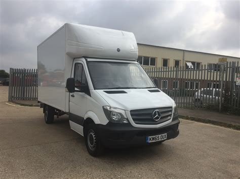 lifted mercedes van 2015 mercedes benz sprinter 313 box van vehicle with tail
