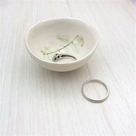 Handmade Ring Holder - handmade ceramic ring holder by choroszewska