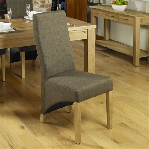 Oak Upholstered Dining Room Chairs by Mobel Solid Oak Furniture Set Of Four Upholstered Dining