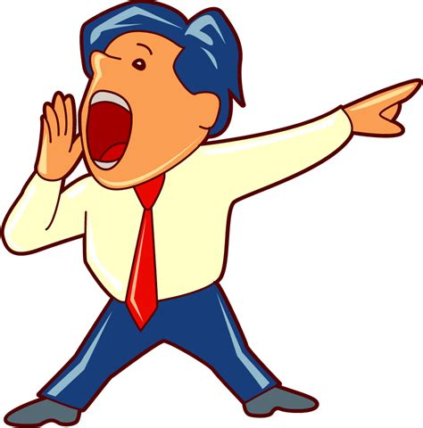clipart yelling people yelling at one person clipart clipground