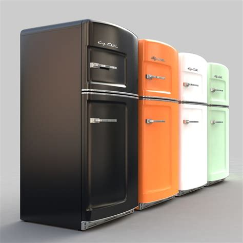 colored refrigerators 3ds max color refrigerators