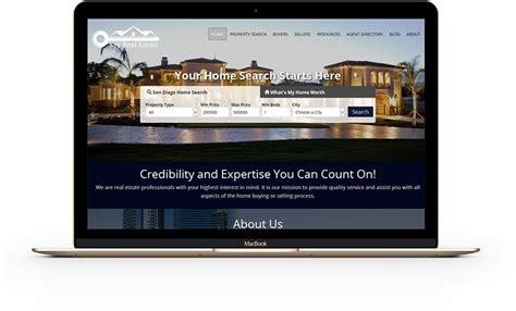 Home Websites Delectable Portfolio Home Builder Websites Builder Designs Inspiration Home Idx Website Templates