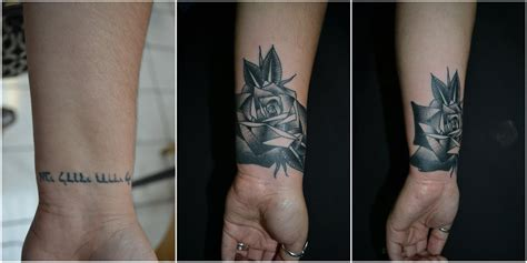 dark cover up tattoos black roses cover up www imgkid the image