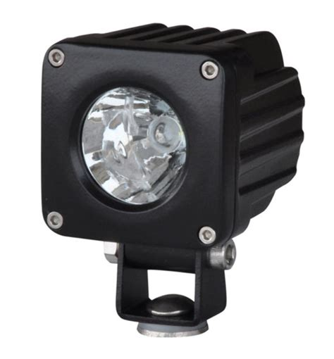 Lu Led Cree 10 Watt pirate 2 5 quot square 10 watt cree led spot light jeep truck road utv atv ebay