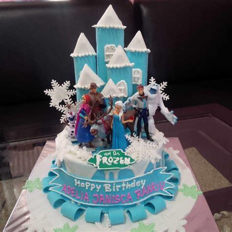buat kue ulang tahun frozen jual kue ultah frozen harga murah jakarta oleh khena cake