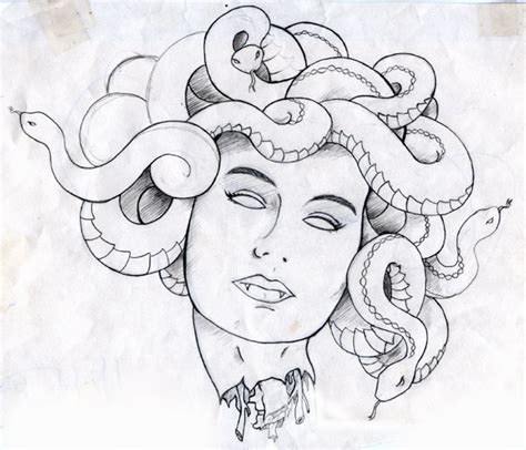 doodle medusa free coloring pages of how to draw medusa
