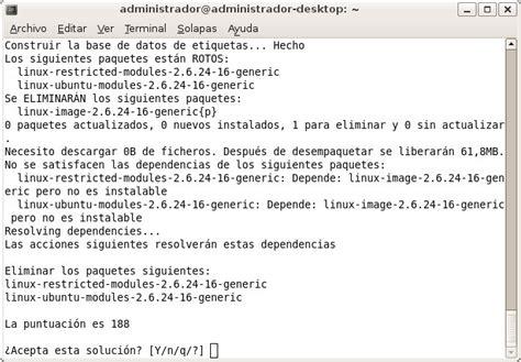 tutorial aptitude linux actualizar linux www scenebeta com