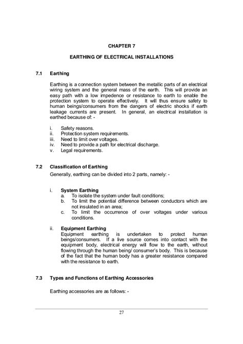 types of electrical installation images