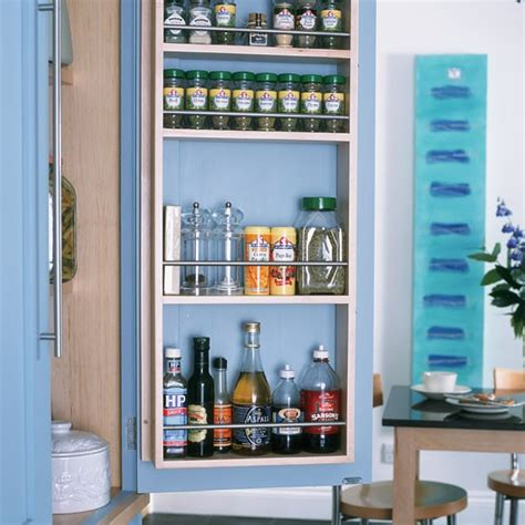 kitchen spice rack ideas built in spice rack small kitchen design housetohome co uk