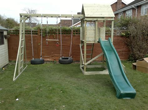 how to build a climbing frame with swing and slide builder 171 2 3 171 climbing frame installer