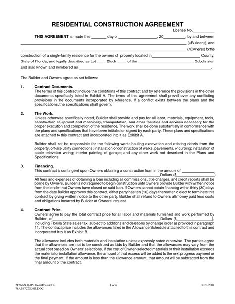 Sle Interior Design Contract Letter Of Agreement 10 Best Images Of Sle Painting Contract Agreement Painting Contract Template Sles
