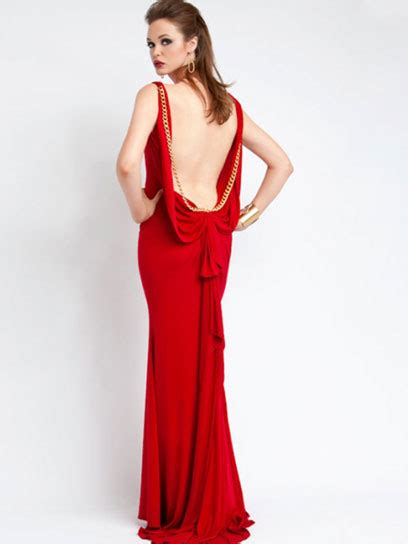 homecoming hairstyles for backless dresses fashion and styles red backless prom dress