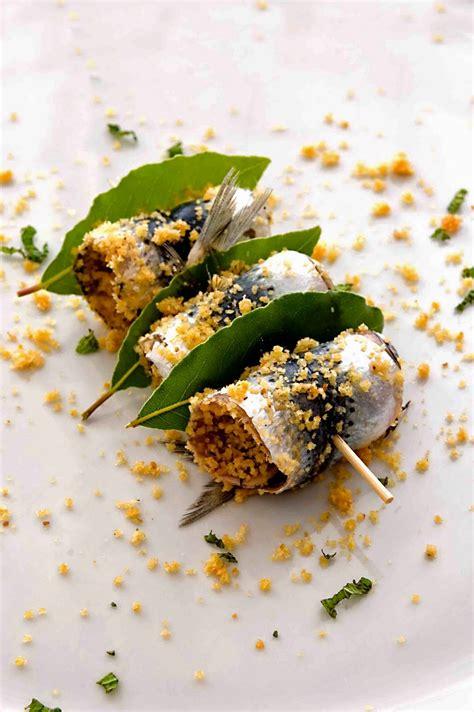 beca foco aglio olio e peperoncino sarde a beccafico 2 ways