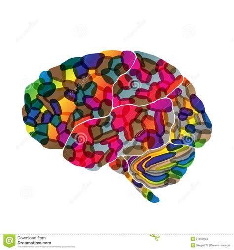 imagenes abstractas para psicologia el cerebro humano vector el fondo abstracto imagenes de