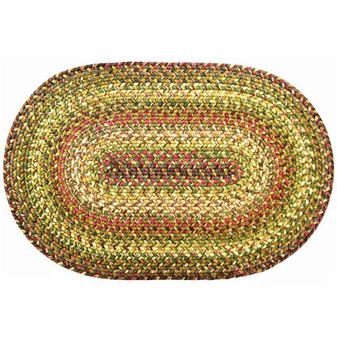 oval braided rugs 8x10 rainforest ultra durable washable braided area rugs oval rectangle 20x30 8x10 ebay