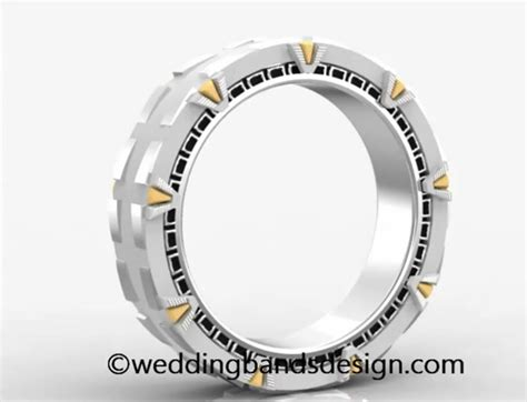 Binary Wedding Band Because Geeks Get Married by Home Depot Marriage Will Make You Believe In Diy