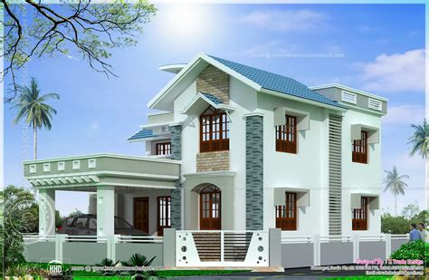 houses designs photos beautiful 2138 square feet house elevation kerala home design and floor plans