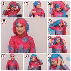 tutorial make up dan hijab pengantin tutorial hijab kebaya pengantin muslim modern 4 kebaya