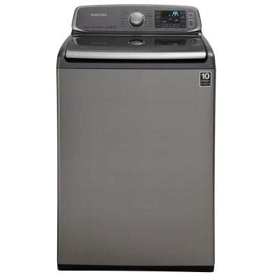 top loading clothes washers at appliance store