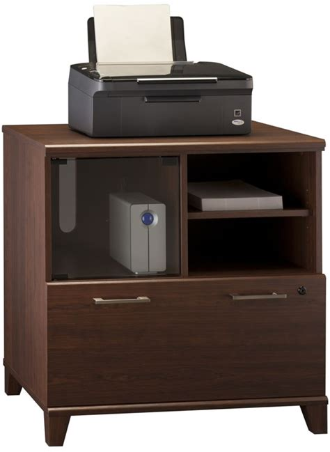 achieve lateral file printer stand with adjustable shelf