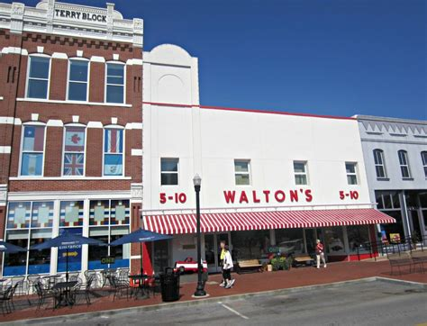 sam walton s first five and dime store in bentonville final farewells in missouri life in leggings