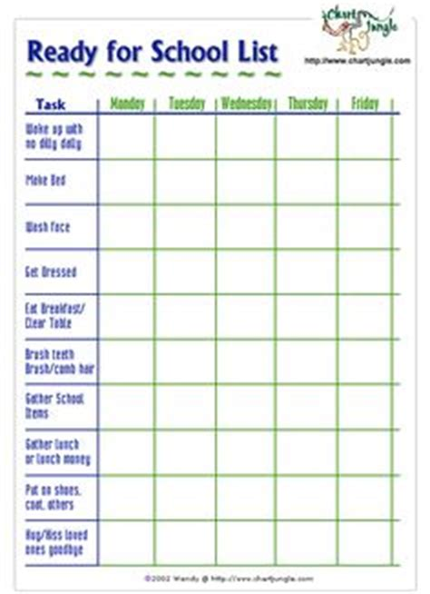 printable daily schedule for adhd child 1000 images about family routine on pinterest daily