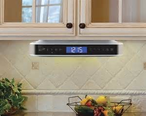 under the cabinet kitchen radio ilive kitchen undercounter fm bluetooth wireless input for