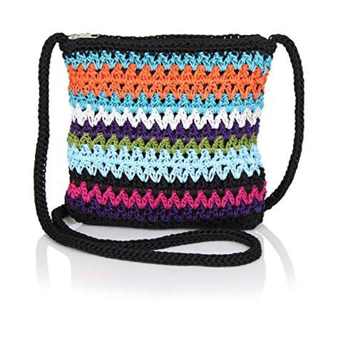 crochet pattern purse organizer 187 boho crochet crossbody handbag organizer sling bag