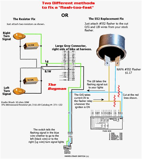 wiring diagram for turn signal flasher wiring diagram