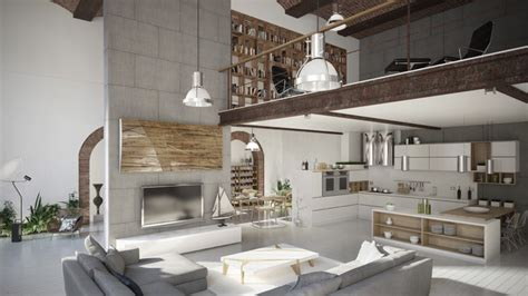 Loft Moderne Salon by 50 Salons Et Salles 224 Manger De Style Loft Ou Industriel