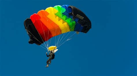 parachute dive skydiving or parachuting a history of terminology