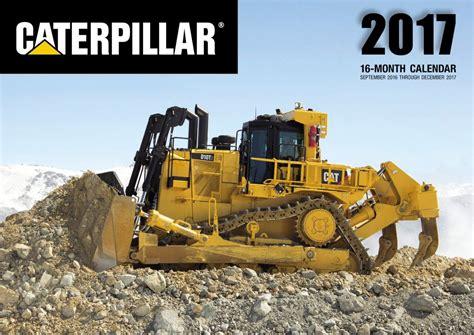 D11 Calendar Caterpillar Calendar 2017 Dhs Diecast Collectables Inc