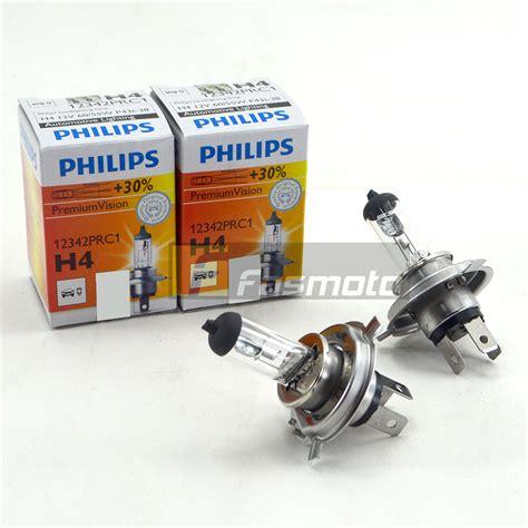 Philips Vision H4 philips 12342prc1 h4 premium vision 12v 60 55w p43t 38