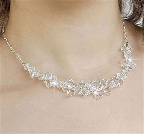 Wedding Necklaces by Necklace To Go With Strapless Dress Weddingbee