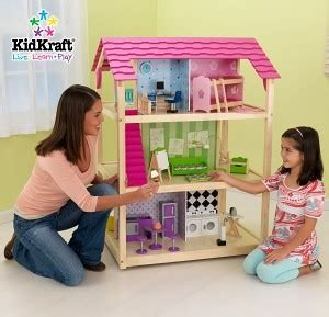 kidkraft so chic doll house our favorite kidkraft dollhouses you child will love them