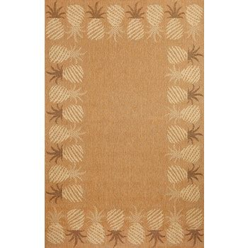 Pineapple Outdoor Rug Pineapple Bordered Indoor Outdoor Rug