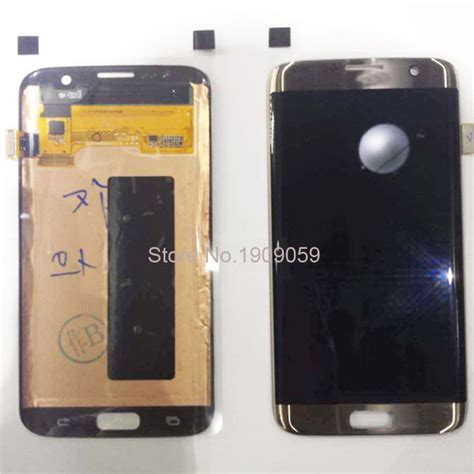 Lcd Samsung S7 Edge wholesale 100 warranty original lcd for samsung galaxy s7 edge lcd display digitizer touch