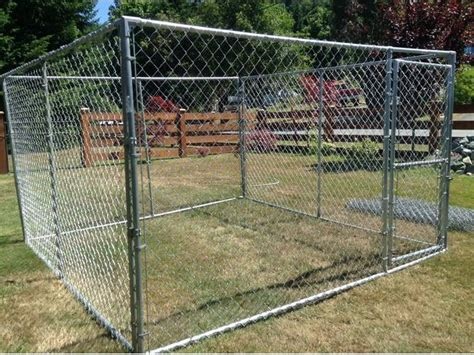 chain link kennel panels delivery included chain link kennel panel style outside