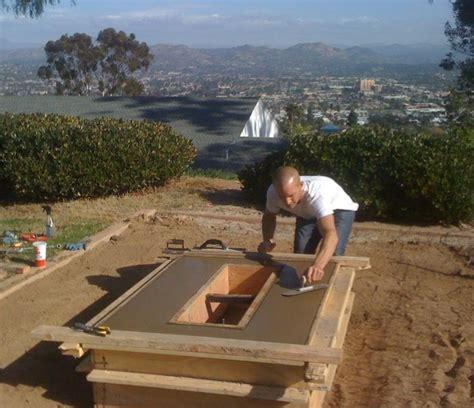 diy pit trough diy rectangular pit rectangular pits