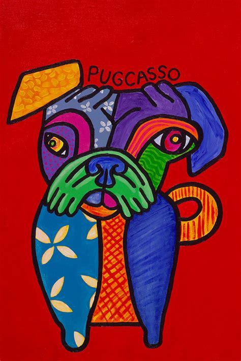 pug pun names pugcasso pug picasso pun print