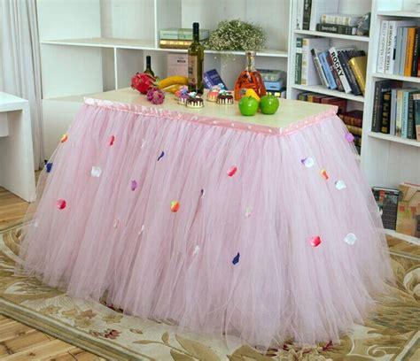 custom made table skirts 2018 custom made tulle tutu wedding table skirt flora baby