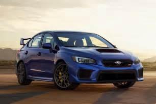Subaru Wrx St Refreshed 2018 Subaru Wrx Sti Receive Minor Updates But