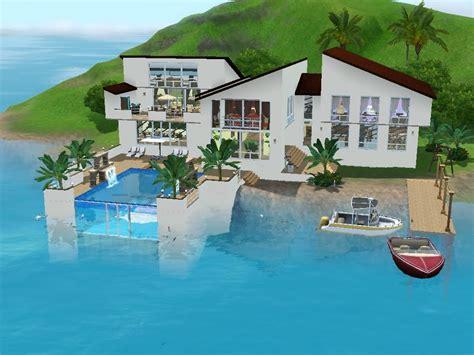 haus am meer sims 3 haus bauen let s build familienidylle am meer