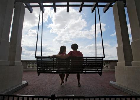 swing sets columbus ohio swings along scioto mile popular for riverside relaxation