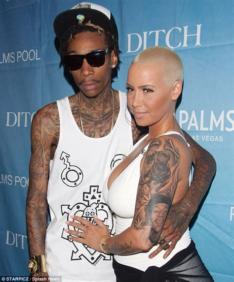 amber rose face tattoo removes wiz who s next