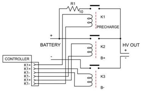 capacitor precharge circuit lithium ion precharge circuit ametherm