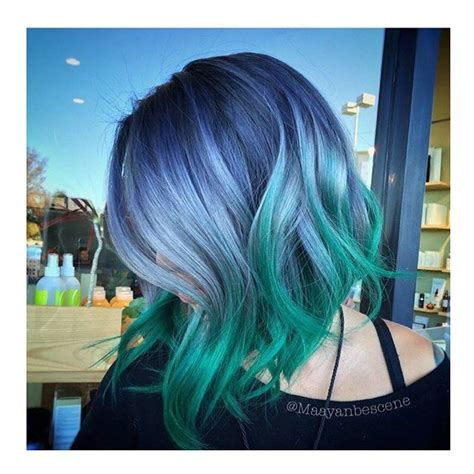5 Blue Green And Everything Fab In Between by 25 Best Ideas About Bright Blue Hair On